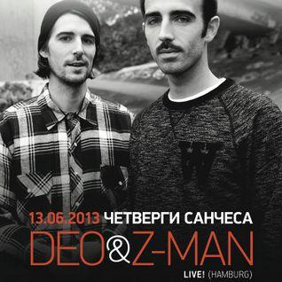 deo&z-man live-set @ propaganda moscow