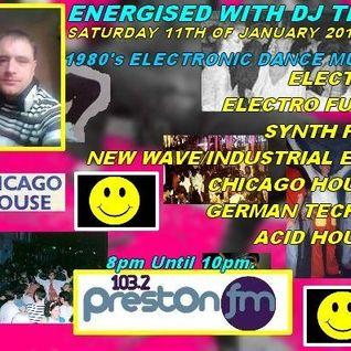 Energised With DJ Tim - 11/1/14/ - 103.2 Preston fm