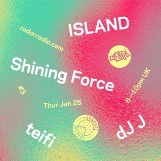 Crazylegs On Radar #3 - ISLAND Takeover