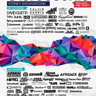Calvin Harris - Live @ Stereosonic Festival 2013 (Sydney, Australia) - 30.11.2013