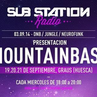 AKROG @ Substation Radio 03/09/2014 presentación MOUNTAINBASS