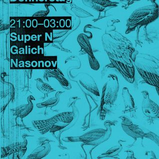31/10/13 live@Donnerstag - hoopa, super N, galich, nasonov