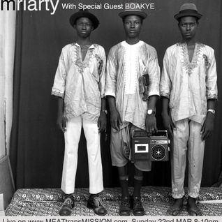 Mriarty w/ boakye music 22/03/15