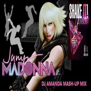 MADONNA VS DIVISION 4   JUMP SHAKE IT! [DJ AMANDA MASH UP MIX]