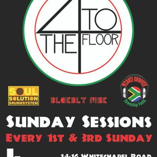 4tothefloor - Sunday Session 9/9/12