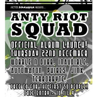 BETAMIX Automaton - Anty Riot Squad Launch Party 22/12/11