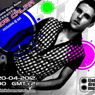 IvanDe Calma @ Guest mix on Elektrik Dreams Music Radio (Greece) [20.04.12]