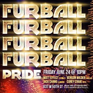 COREYOGRAPHY | FURBALL NYC:  PRIDE ROOFTOP MIX