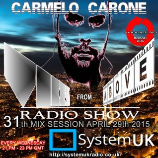 Carmelo_Carone_VIBES_FROM_ABOVE_On_System_UK_Radio-31th_Mix_Session-MAY_13th_2015