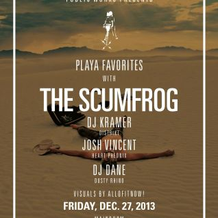 The Scumfrog - DJ Set from Public Works, San Francisco 12/27/13