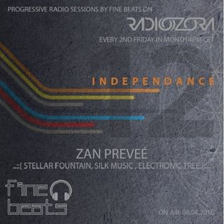 Zan Preveé - Independance 12 RadiOzora 2016 April Guest Mix