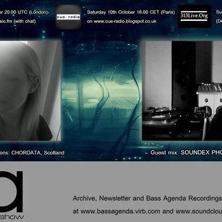 Bass Agenda 113: CHORDATA Interview & SOUNDEX PHONETIC guest mix