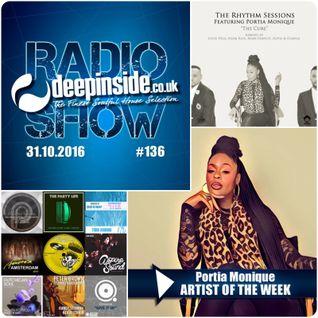 DEEPINSIDE RADIO SHOW 136 (Portia Monique Artist of the week)