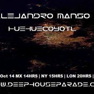 Alejandro Manso Huehuecoyotl 24/10/2014 @deephouseparade.com