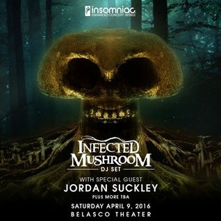 Jordan Suckley - Live @ Insomniac, Belasco Theater (Los ANgeles) - 09.04.2016