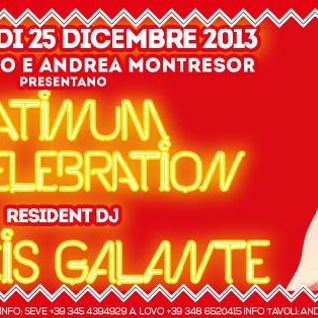 "Francis Galante live @ ""Platinum Red Celebration"" Caldiero (VR) Italy 25/12/2013"
