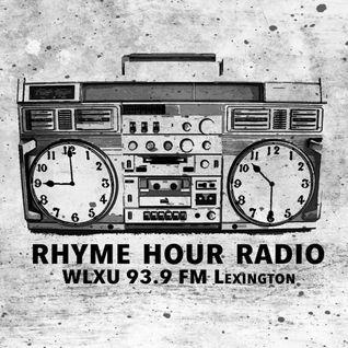 Rhyme Hour Radio Debut 05/26/16