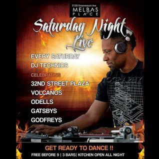 DJ Technics Live @ Melbas Place (Saturday Night) 11-12-2016