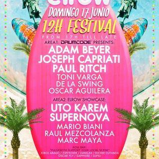 Toni Varga vs De la Swing - Live @ Elrow, Drumcode, Sonar 2012 - 17.06.2012