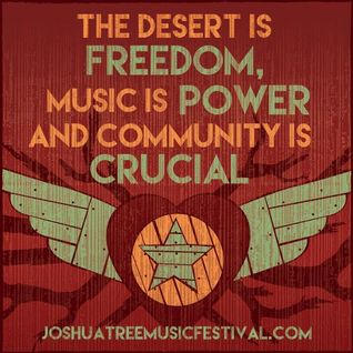Joshua Tree Music Festival - May 14, 2015 - Thursday Welcome Wagon Set
