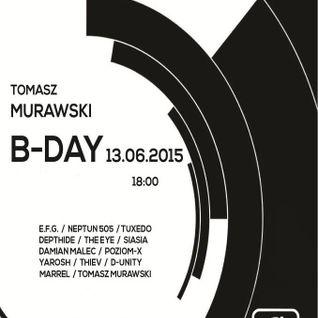 Tuxedo @ Tomasz Murawski B-Day - Minimal-Radio [13.06.2015]