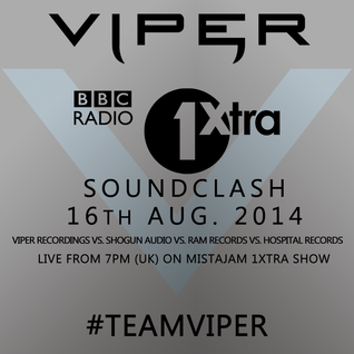 BBC 1Xtra D&B Soundclash (Viper vs Hospital vs Shogun vs Ram)