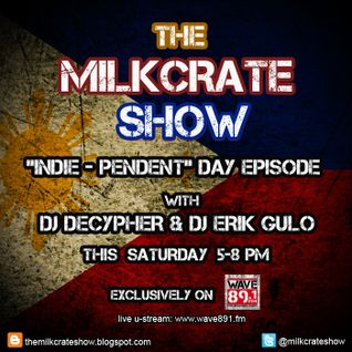 The Milkcrate Show 6-14-14 (Independence Day Episode) 1st hour