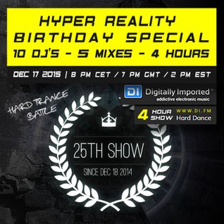 Hyper Reality Radio 025 - The Great Hard Trance Battle Part 1