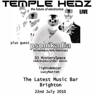 Supporting Temple Hedz @ Latest Music Bar July 2010