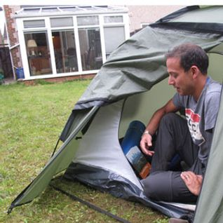 "The sound of the suburbs: Simon Calder meets ""garden camper"" Aaron Millar"