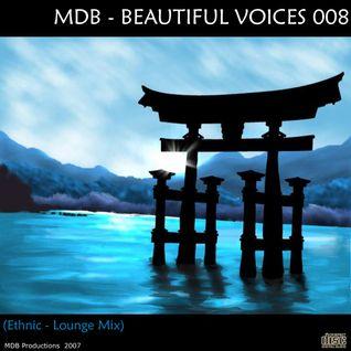 MDB - BEAUTIFUL VOICES 008 (ETHNIC-LOUNGE MIX)