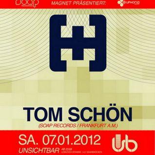 Tom Schön @ Unsichtbar in Saarbrücken 07-01-2012  Part #1