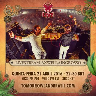 Axwell Ingrosso Live Tomorrowland Brazil 20 Apr 2016