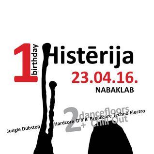"""Histērija - Speciālizlaidums pirms gada jubilejas svinībām """"Nabaklab"""" 22.04.2015."""