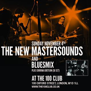 Funky 45s for The New Mastersounds @ The 100 Club.