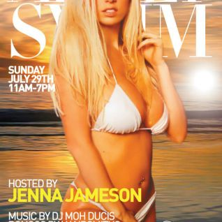Adult swim pool party live set Feat Moh Ducis Hosted by Jenna Jameson