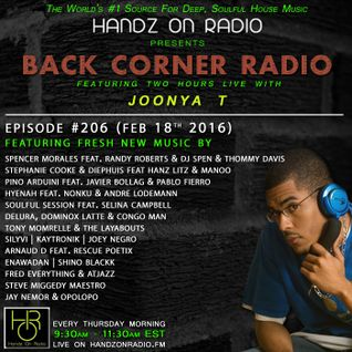 BACK CORNER RADIO: Episode #206 (Feb 18th 2016)