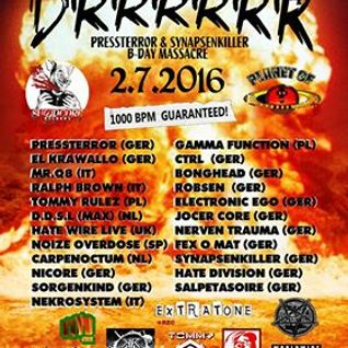 Fexomat @ Planet Of Drrrrrr IV [Kili Berlin] 2016