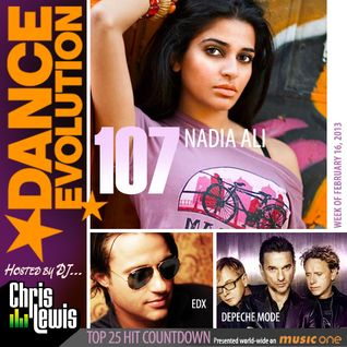 DANCE EVOLUTION 107 / DJ CHRIS LEWIS - NADIA ALI