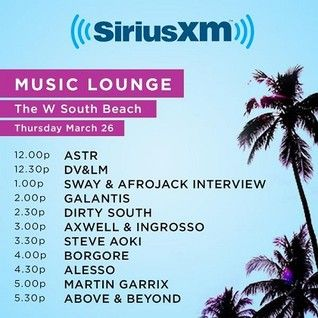 Above & Beyond - Live at Sirius XM Music Lounge,WMC 2015 (03.26.2015)