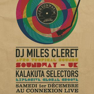 Kalakuta Radio invite Miles Cleret (Soundway records) - Interview + mix