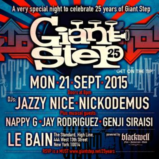 Part 2: Giant Step 25th Anniversary Party at Le Bain feat. Nickodemus & Jazzy Nice + More
