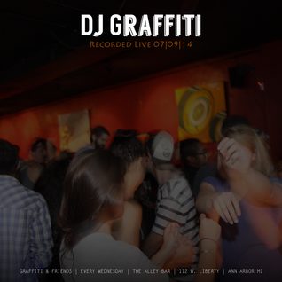 DJ Graffiti Live at the Alley Bar - July 7, 2014