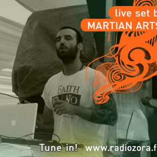 Martian Arts on RadiOzora