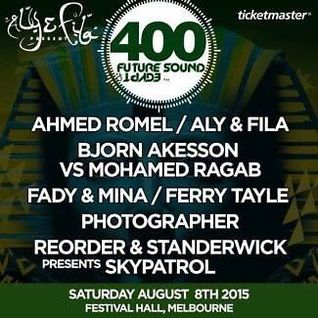 Ahmed Romel - Future Sound of Egypt 400 ( Australia ) 2015-08-08