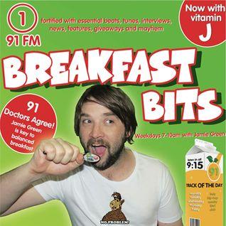 Monday Breakfast (15/2/16) with Jamie Green