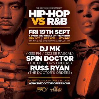 Hip-Hop vs R&B - The Duets - Mixed by Spin Doctor