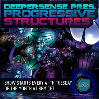 Deepersense Pres. CJ Priority & Yaos - Progressive Structures 039 (24-03-2015) on houseradio.pl