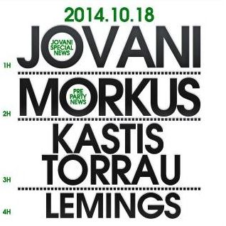 LeMings @ Jovani@Club ZIP FM 14.10.18