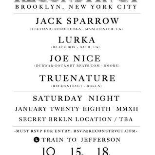 Jack Sparrow Reconstrvct IV Live Set